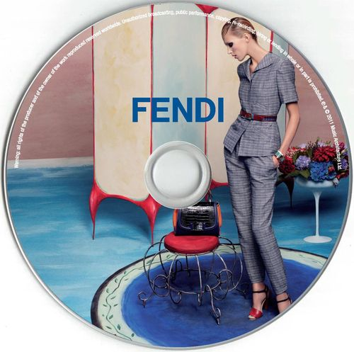 FENDI MUSIC COMPILATION_label