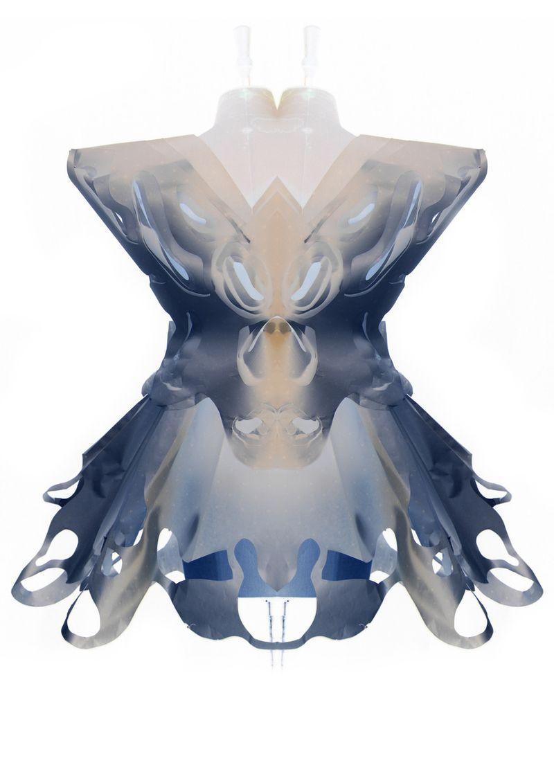 Paper dress robert wun 2