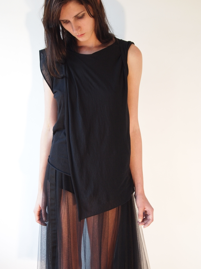 DOUBLE LAYER FOLD TOP