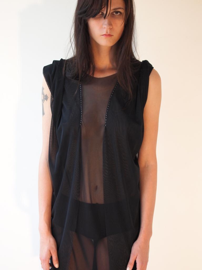 TRIANGLE BIAS DRESS